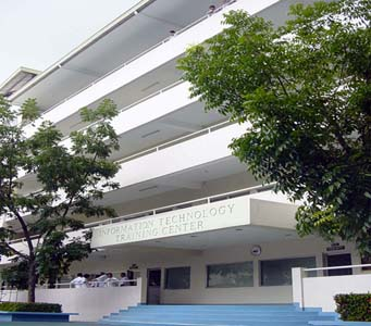 angeles university foundation information technology training center